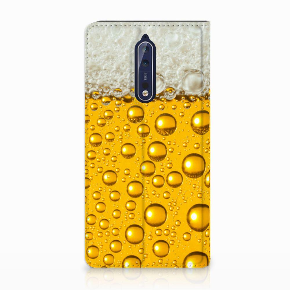 Nokia 8 Uniek Standcase Hoesje Bier