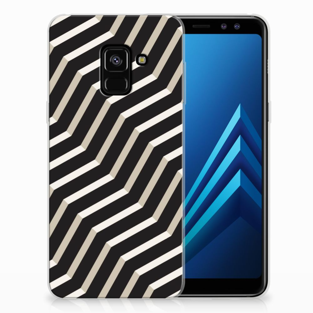 Samsung Galaxy A8 (2018) TPU Hoesje Design Illusion
