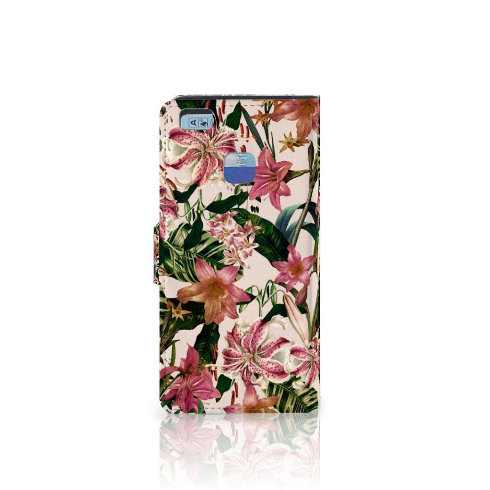 Huawei P9 Lite Hoesje Flowers