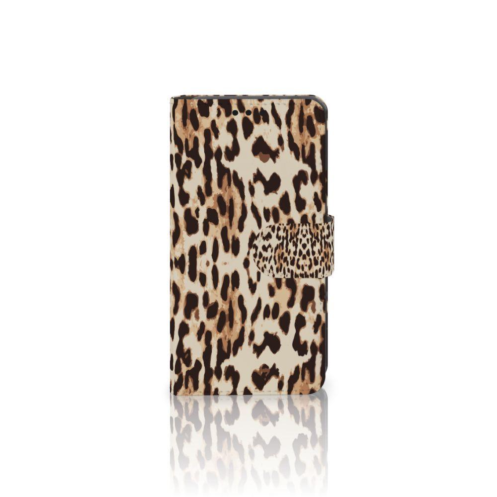 LG X Style Uniek Boekhoesje Leopard