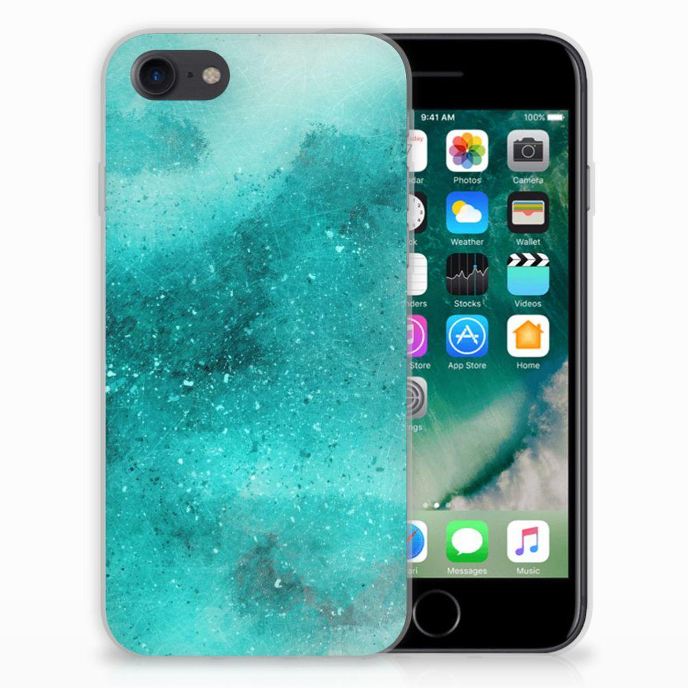 Hoesje maken Apple iPhone 7 | 8 Painting Blue