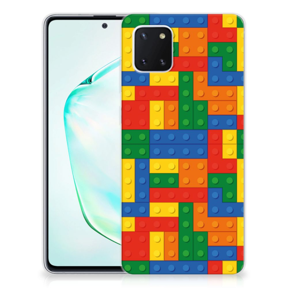 Samsung Galaxy Note 10 Lite TPU bumper Blokken