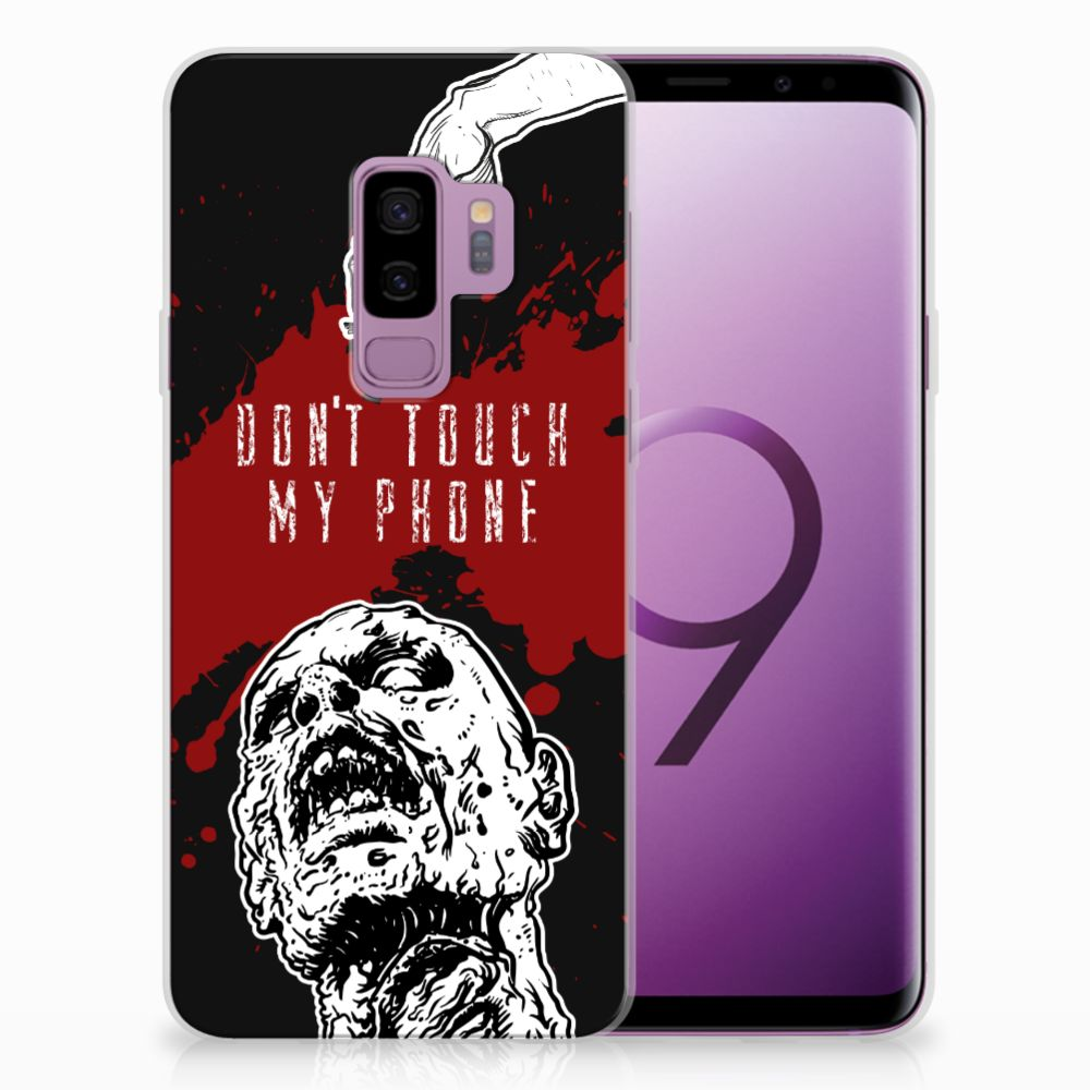 Samsung Galaxy S9 Plus TPU Hoesje Design Zombie Blood