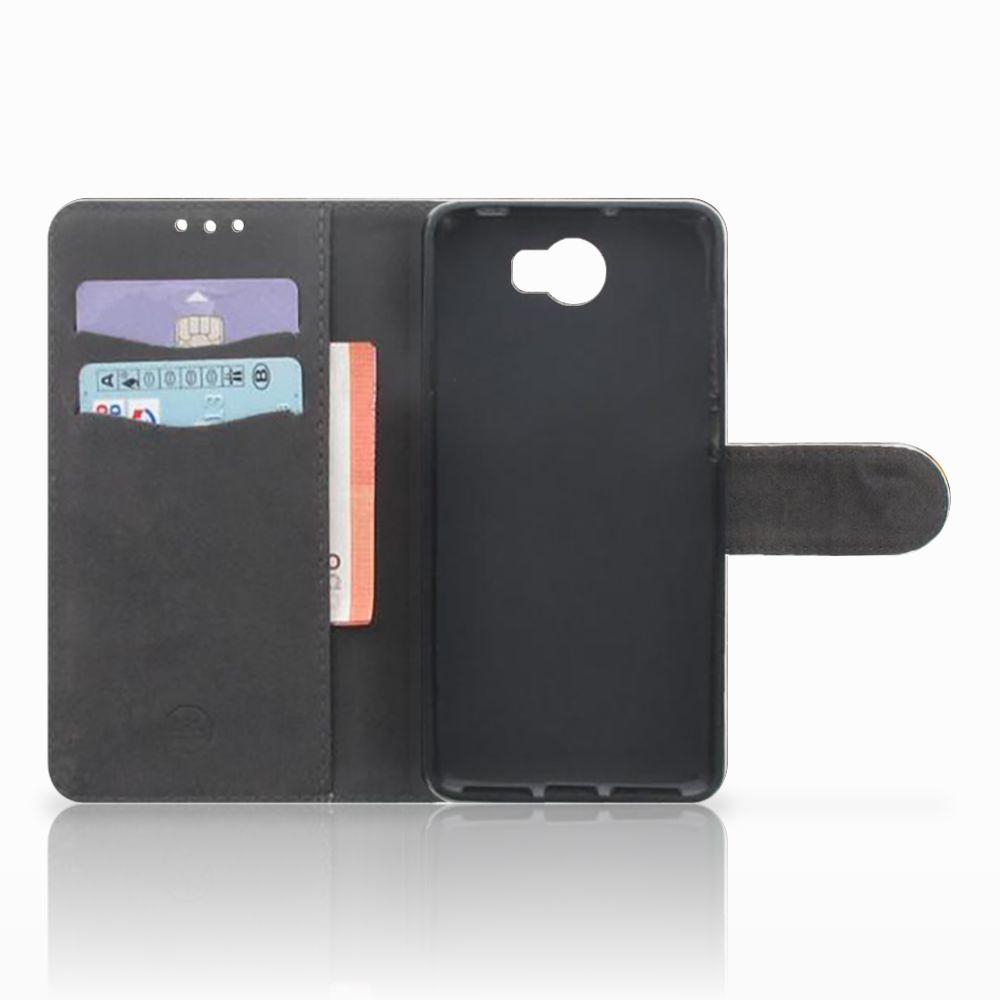 Telefoonhoesje met Pasjes Huawei Y5 2 | Y6 II Compact Britse Korthaar