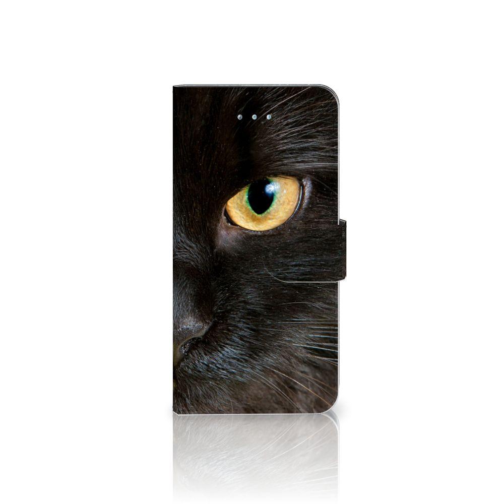 Honor 4A | Y6 Uniek Boekhoesje Zwarte Kat