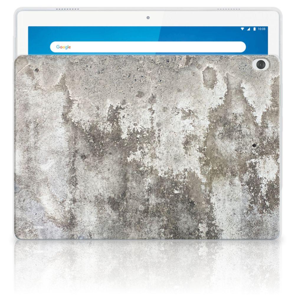 Lenovo Tab M10 Tablet Back Cover Beton Print