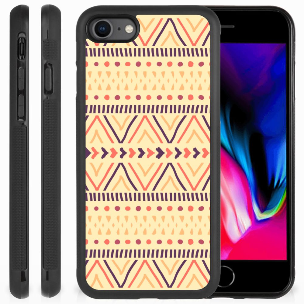 Apple iPhone 7 | 8 Bumper Case Aztec Yellow
