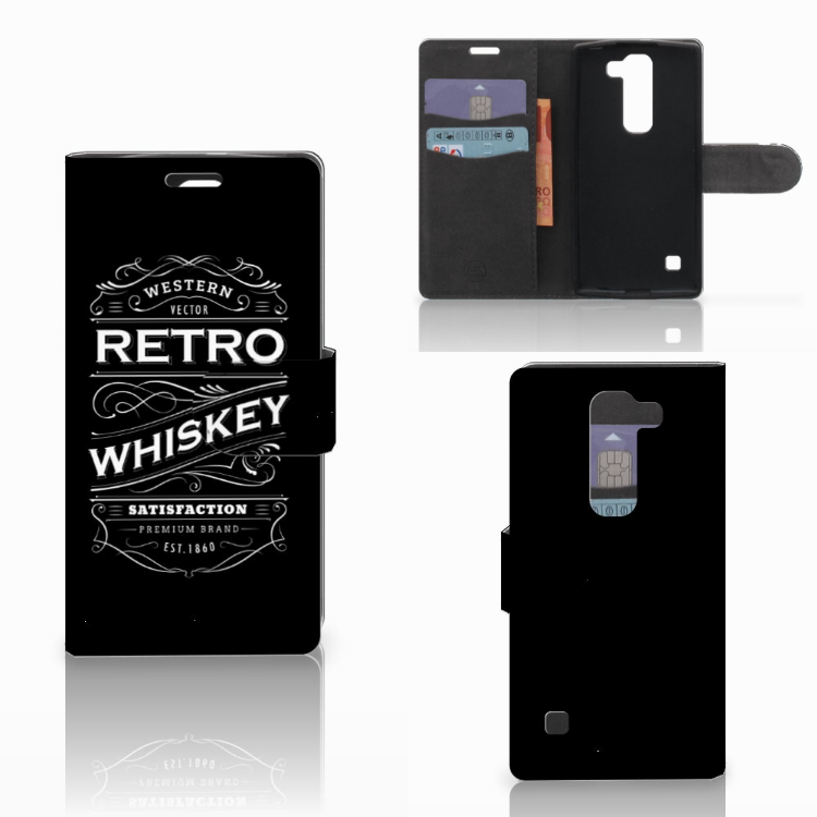 LG Spirit Book Cover Whiskey