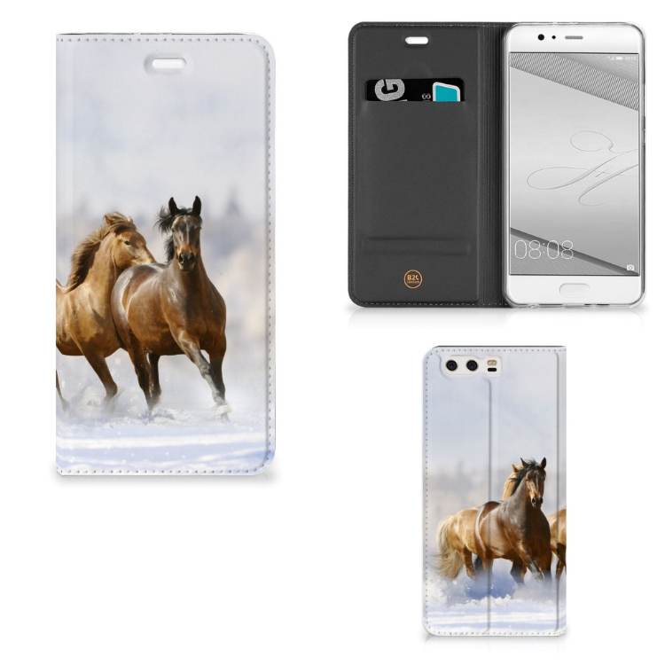 Huawei P10 Plus Hoesje maken Paarden
