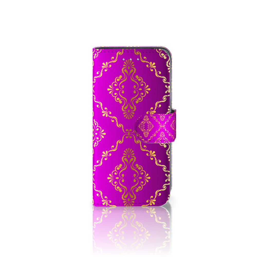 Samsung Galaxy A5 2016 Uniek Boekhoesje Barok Roze
