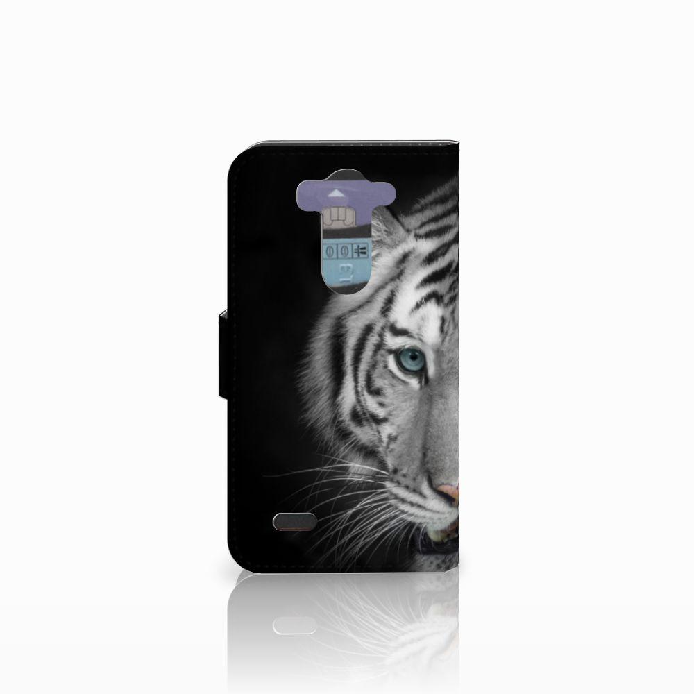 LG G3 S Telefoonhoesje met Pasjes Tijger