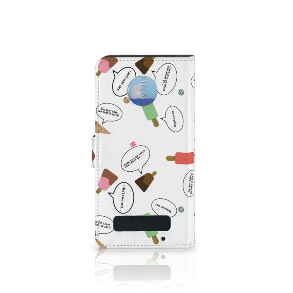 Motorola Moto Z Play Book Cover IJsjes