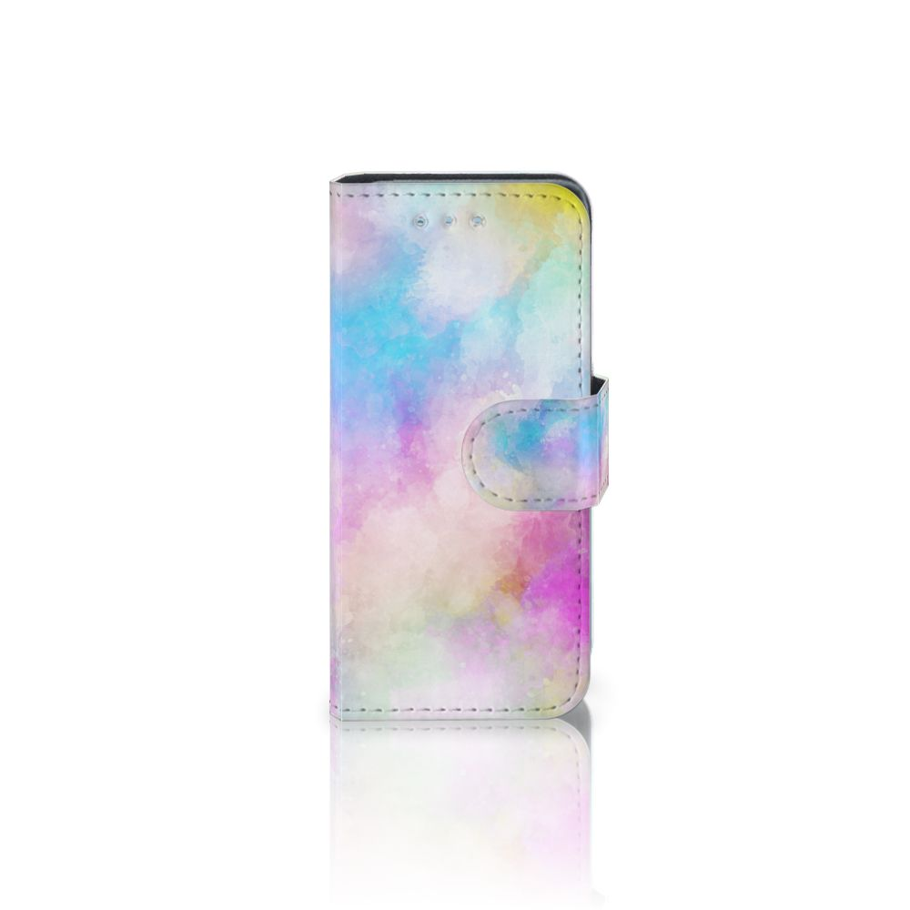 Samsung Galaxy S4 Mini i9190 Uniek Boekhoesje Watercolor Light