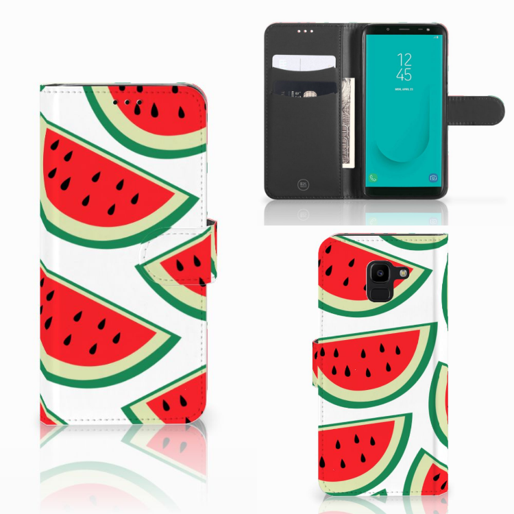 Samsung Galaxy J6 2018 Book Cover Watermelons