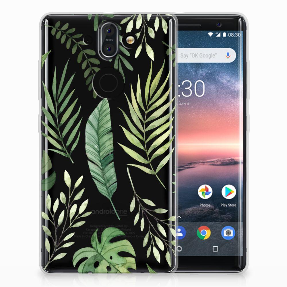 Nokia 9 | 8 Sirocco TPU Case Leaves