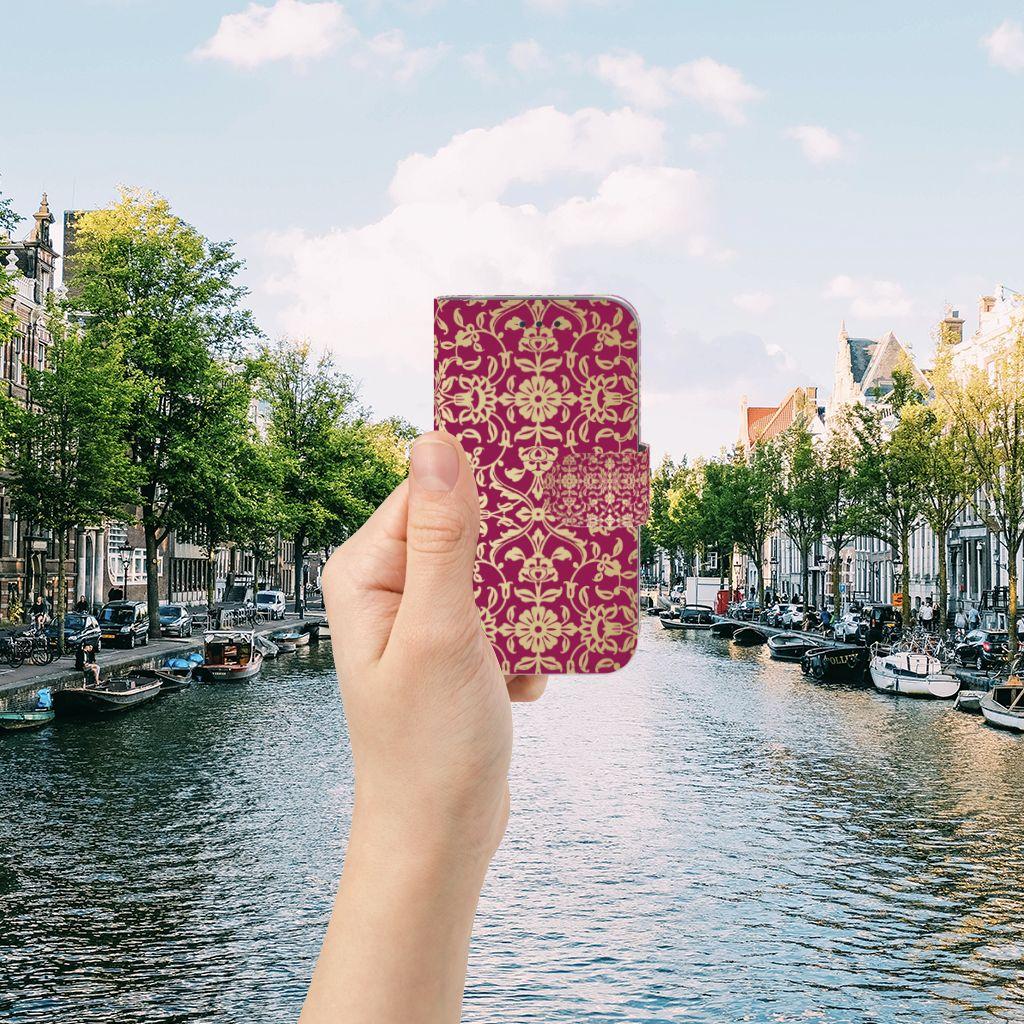 Samsung Galaxy Core Prime Boekhoesje Design Barok Pink