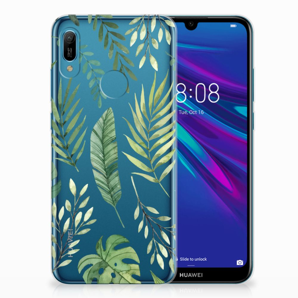 Huawei Y6 2019 | Y6 Pro 2019 TPU Case Leaves