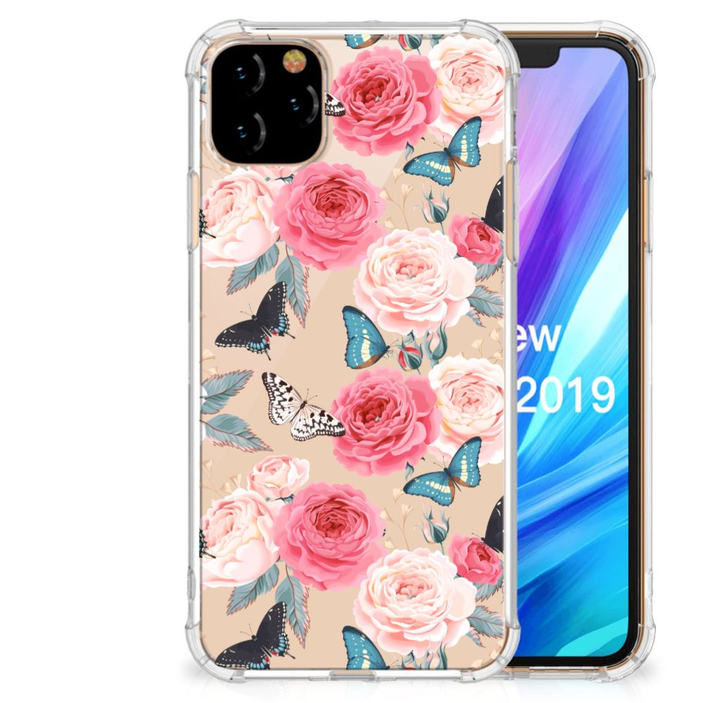 Apple iPhone 11 Pro Max Case Butterfly Roses