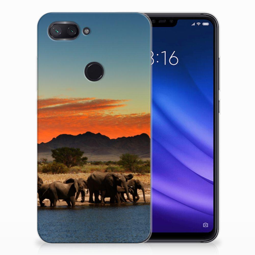 Xiaomi Mi 8 Lite TPU Hoesje Olifanten