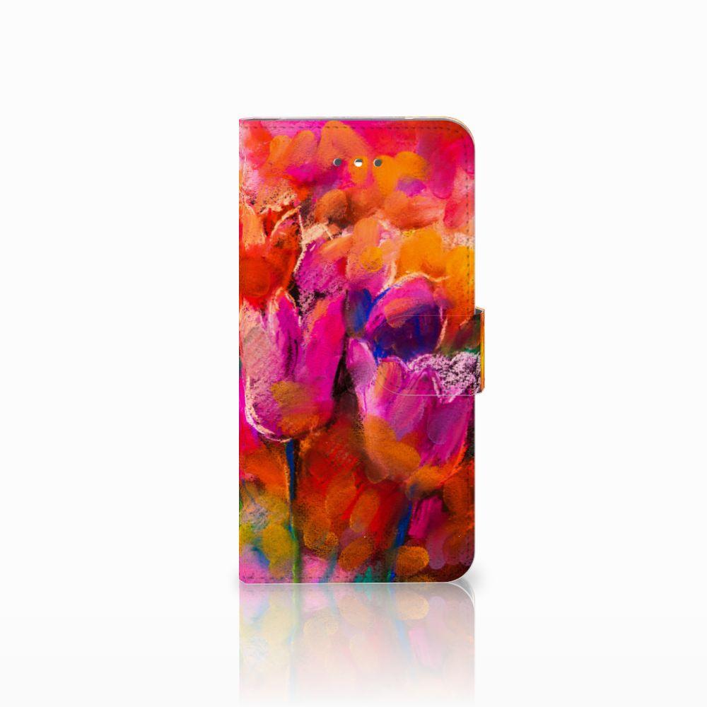 LG Nexus 5X Boekhoesje Design Tulips