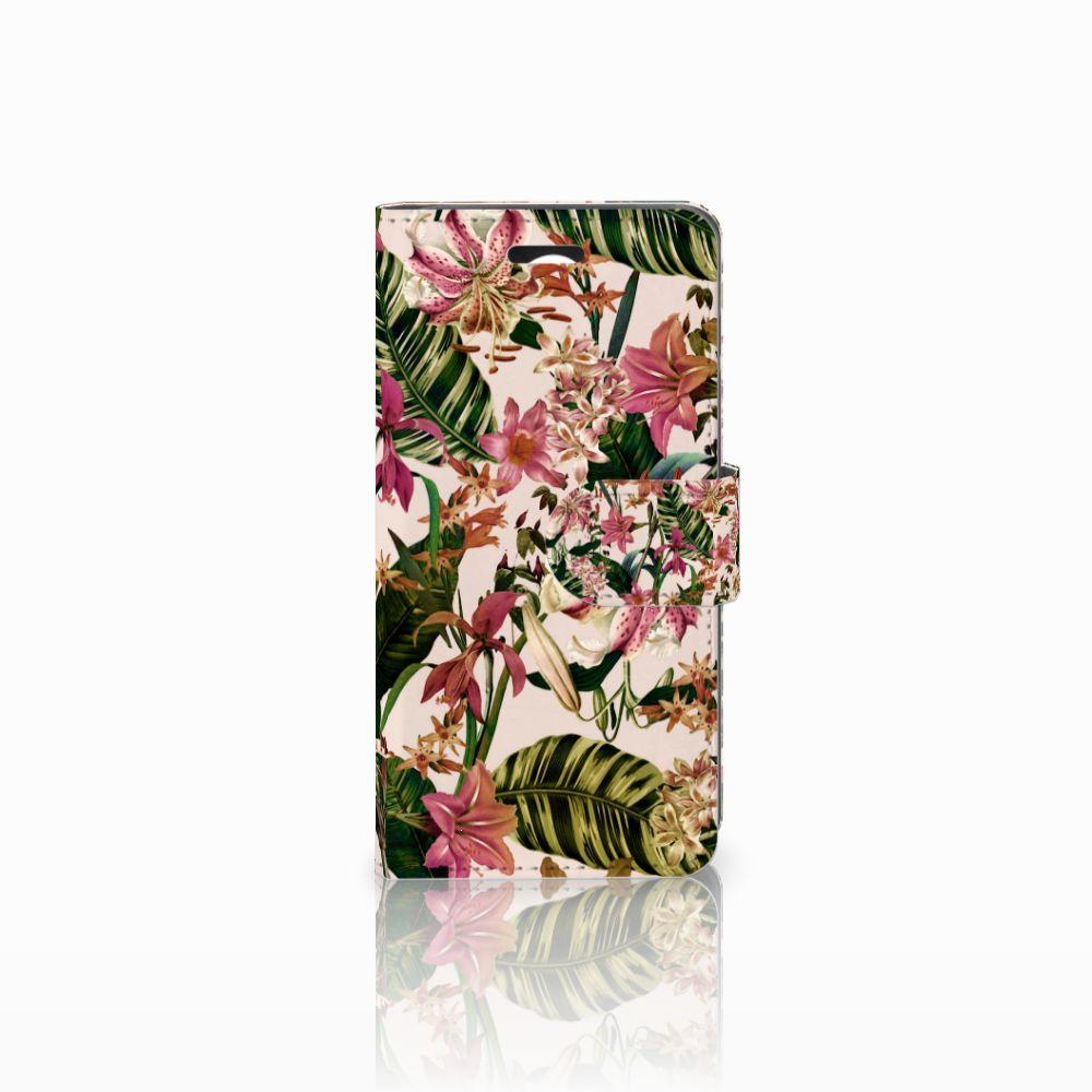 Huawei Y3 2 | Y3 II Uniek Boekhoesje Flowers