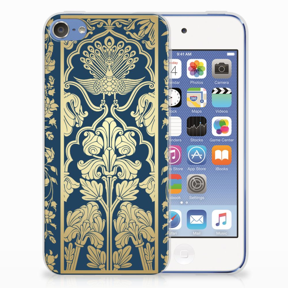 Apple iPod Touch 5 | 6 TPU Case Golden Flowers