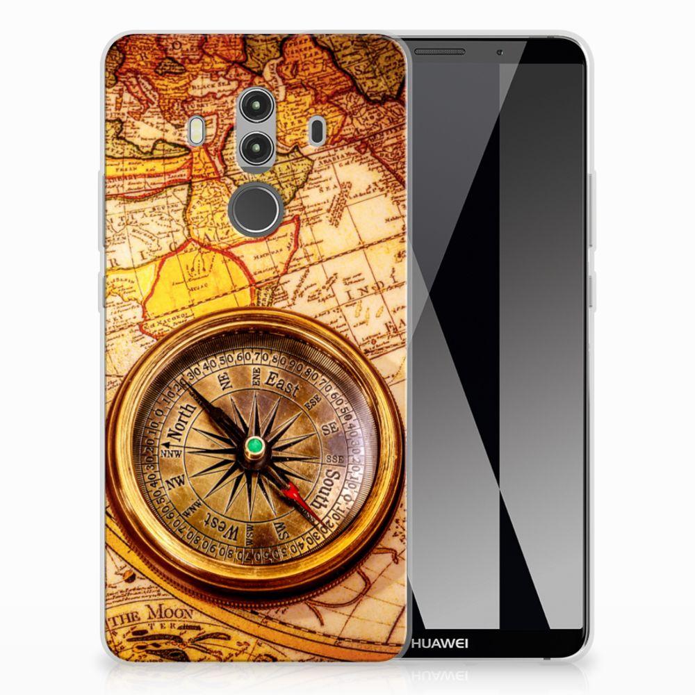 Huawei Mate 10 Pro Siliconen Back Cover Kompas