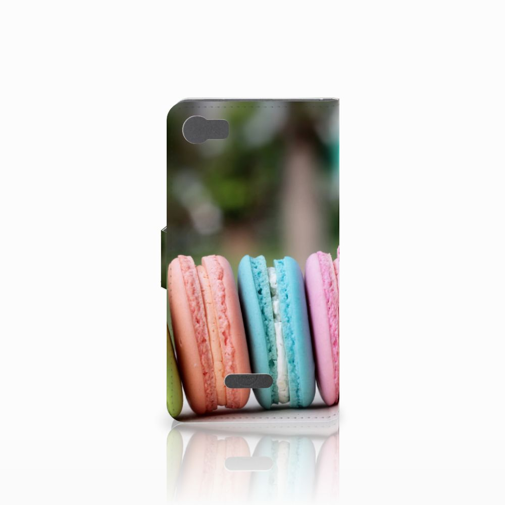 Wiko Fever (4G) Book Cover Macarons