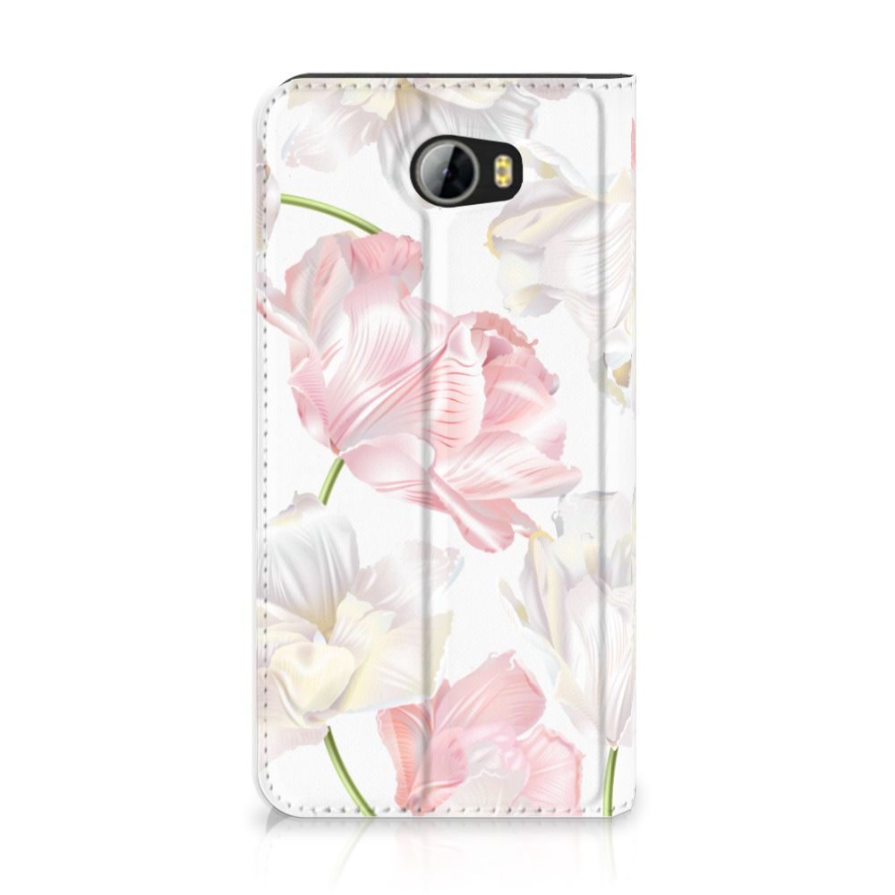 Huawei Y5 2   Y6 Compact Standcase Hoesje Design Lovely Flowers