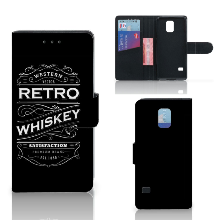 Samsung Galaxy S5 | S5 Neo Book Cover Whiskey