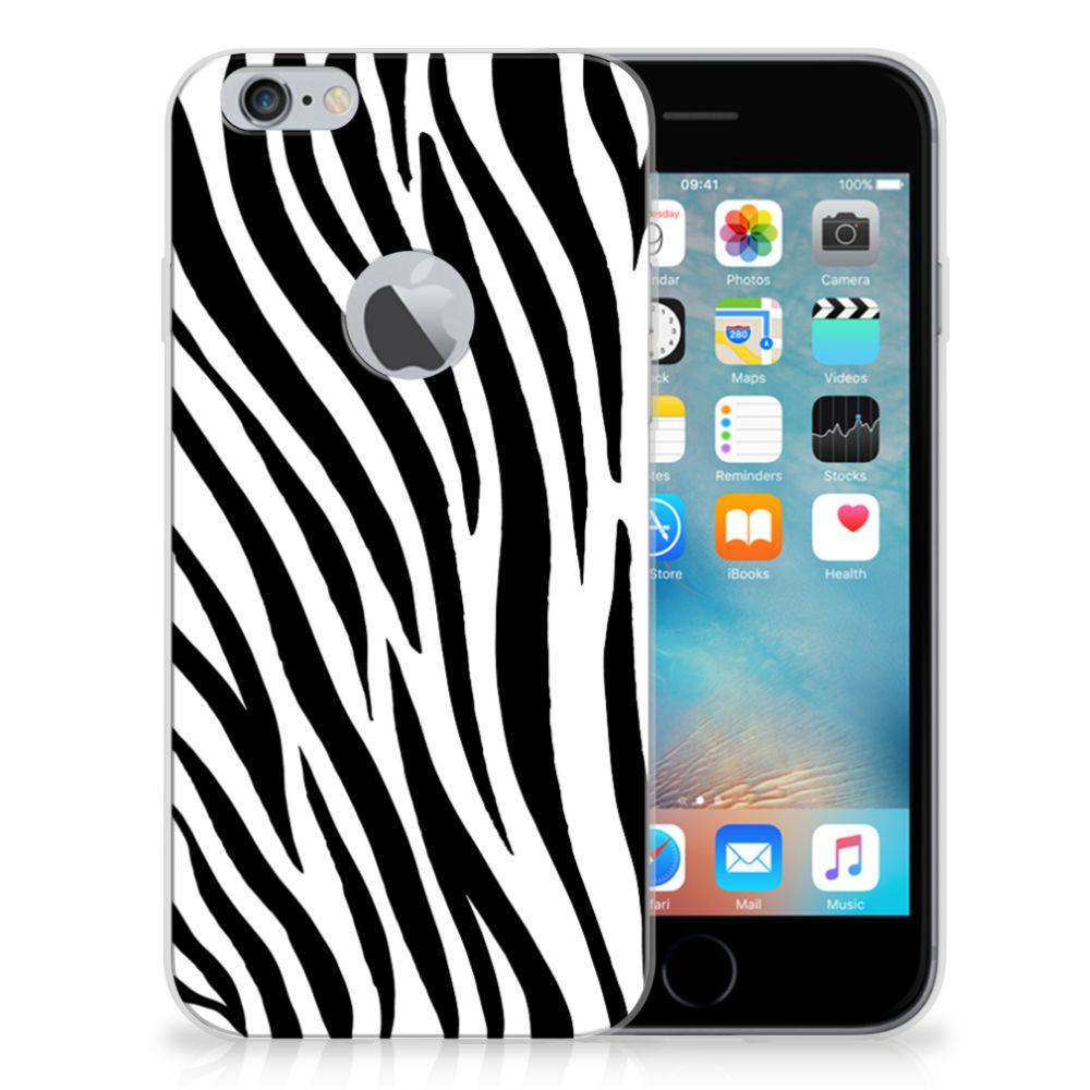 Apple iPhone 6 Plus | 6s Plus TPU Hoesje Zebra