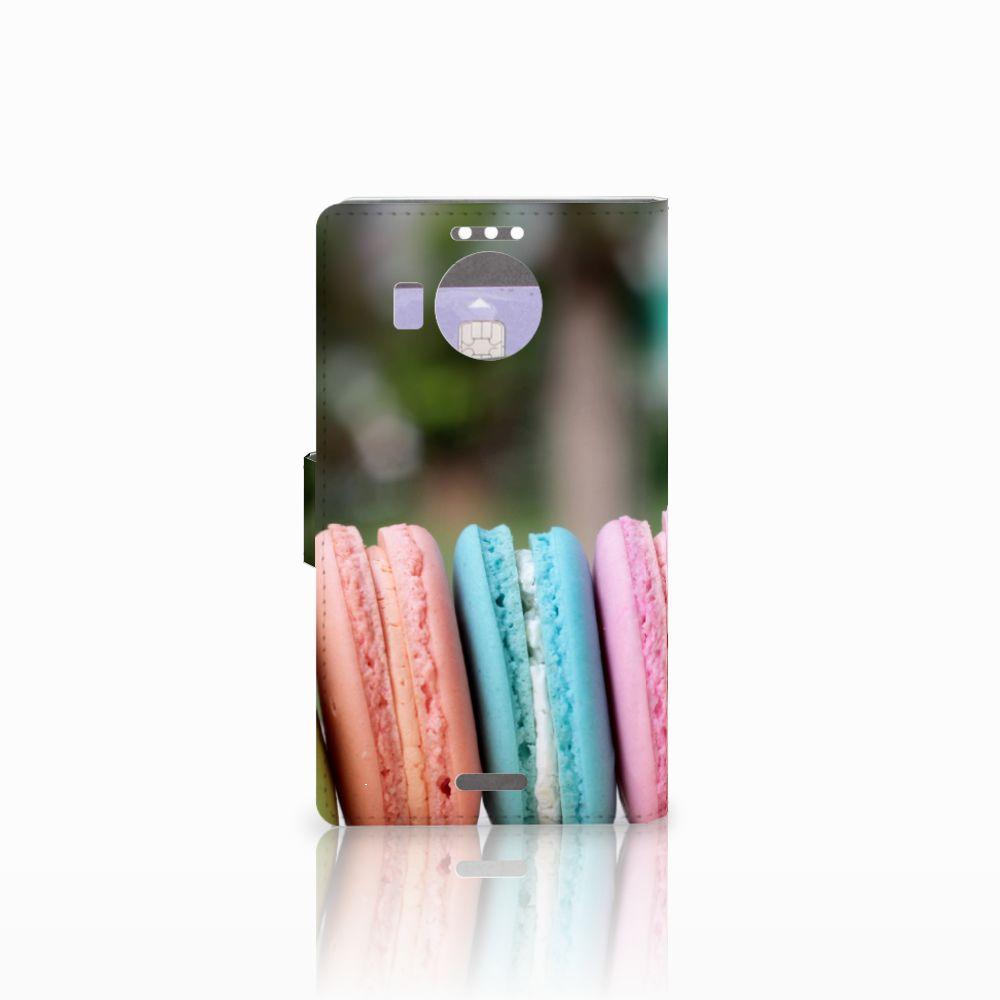 Microsoft Lumia 950 XL Book Cover Macarons