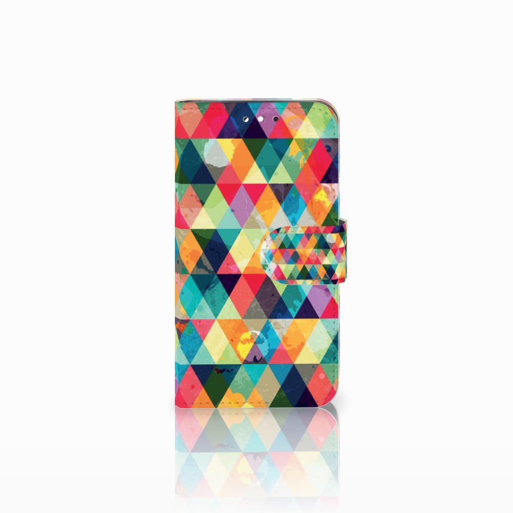 LG G3 S Uniek Boekhoesje Geruit