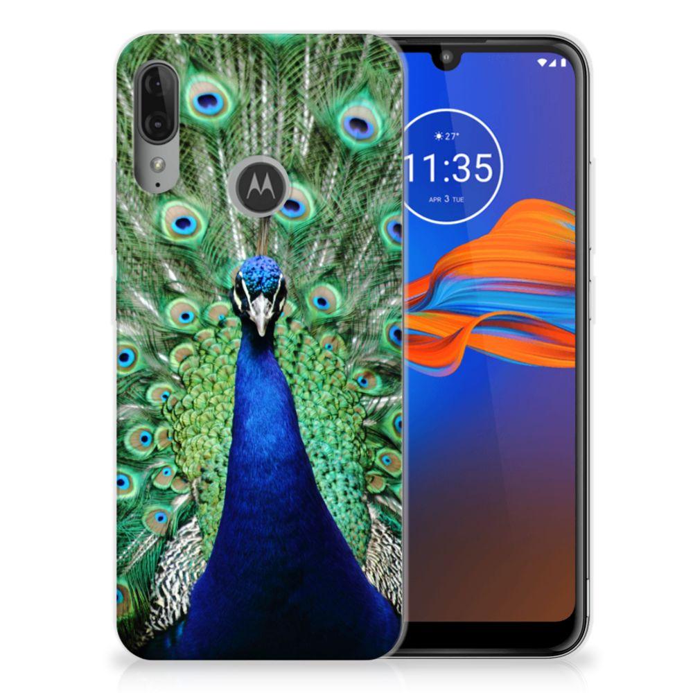 Motorola Moto E6 Plus TPU Hoesje Pauw