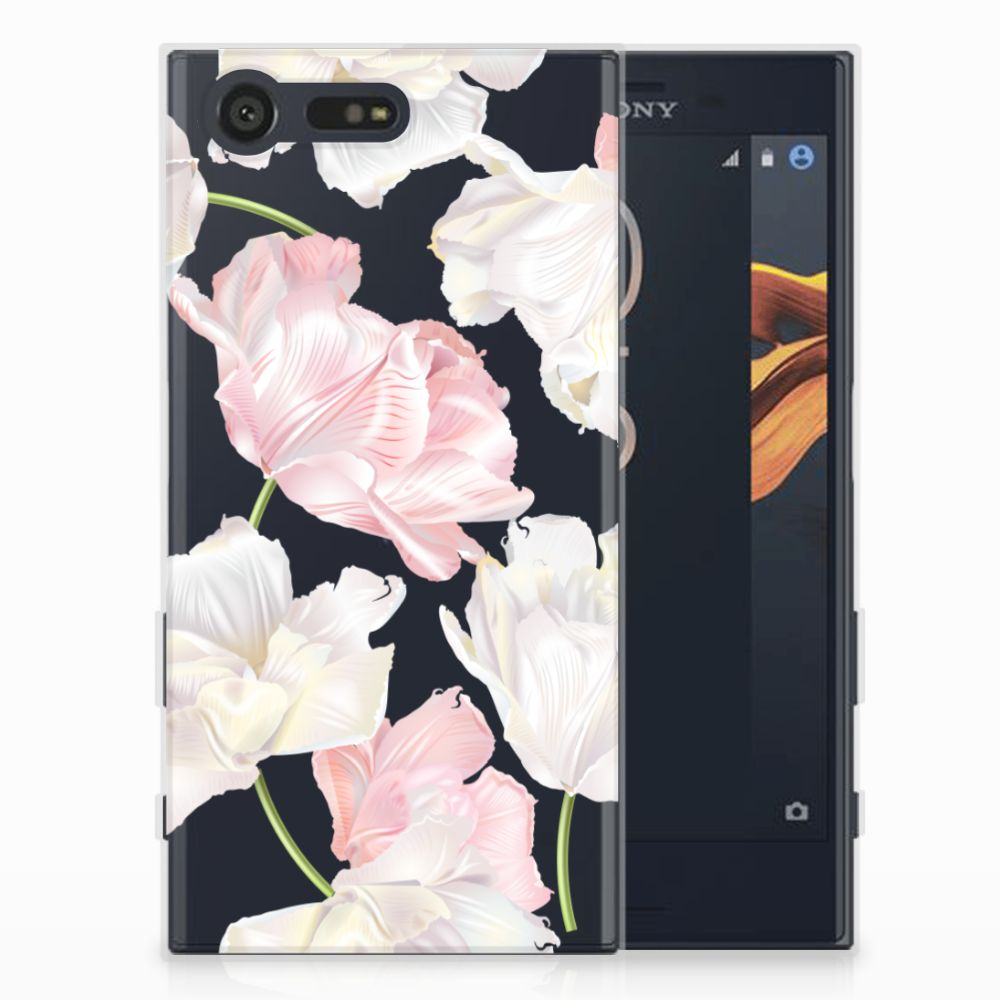 Sony Xperia X Compact TPU Hoesje Design Lovely Flowers