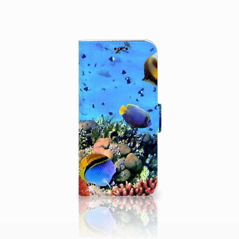 Samsung Galaxy A5 2017 Telefoonhoesje met Pasjes Vissen