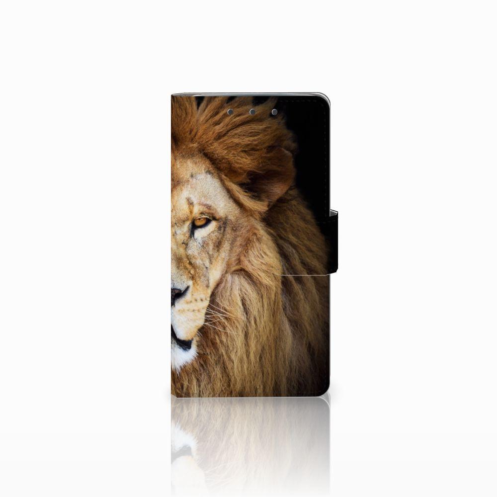 HTC One M7 Boekhoesje Design Leeuw