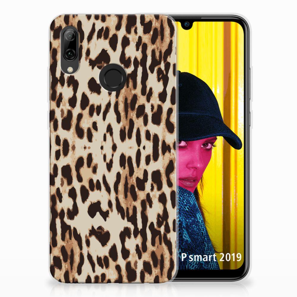 Huawei P Smart 2019 Uniek TPU Hoesje Leopard