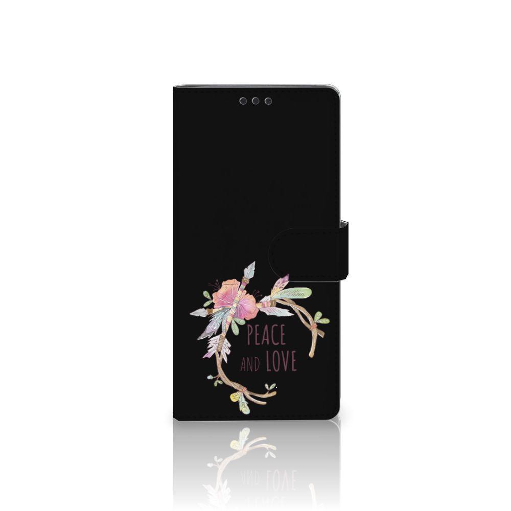 Sony Xperia XA Ultra Uniek Boekhoesje Boho Text