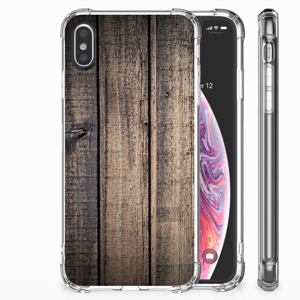 Apple iPhone X | Xs TPU Hoesje Design Steigerhout
