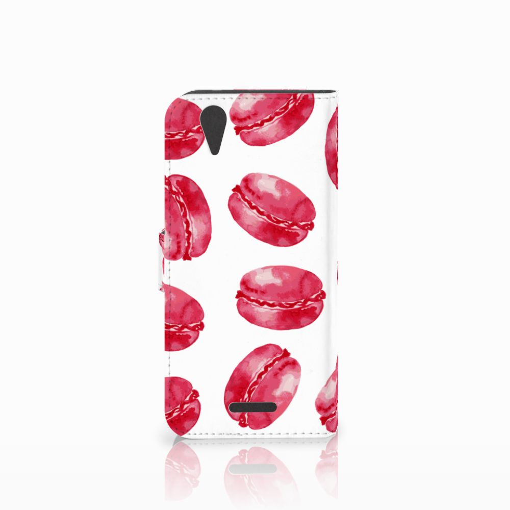 Acer Liquid Z630 | Z630s Book Cover Pink Macarons