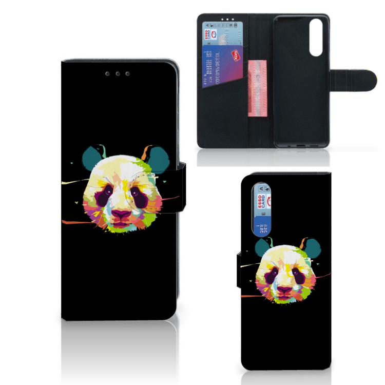 Sony Xperia 5 Leuk Hoesje Panda Color