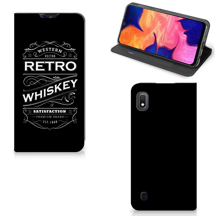 Samsung Galaxy A10 Flip Style Cover Whiskey