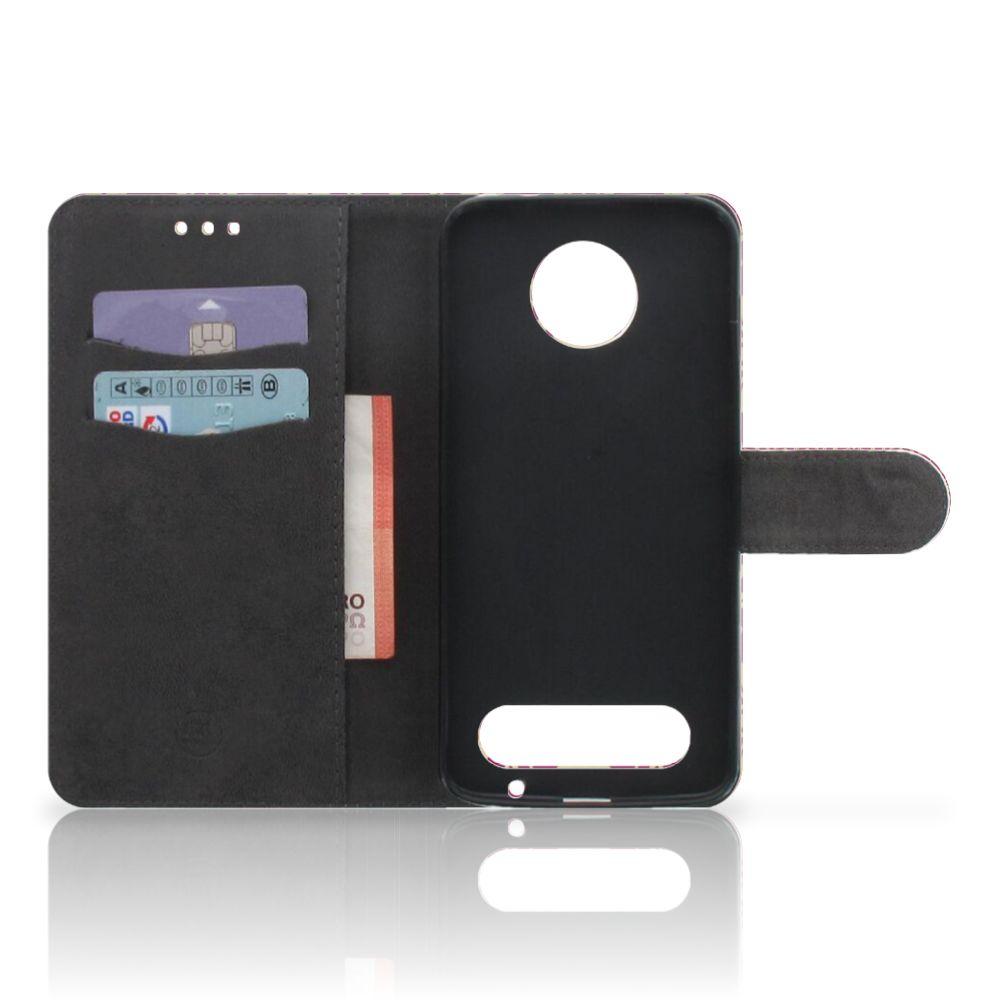 Wallet Case Motorola Moto Z2 Force Barok Pink