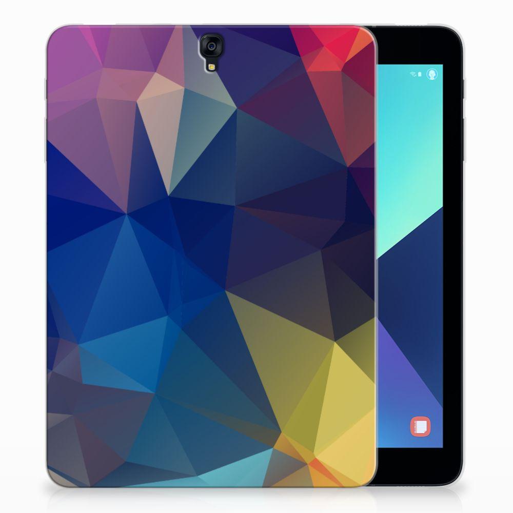 Samsung Galaxy Tab S3 9.7 Back Cover Polygon Dark
