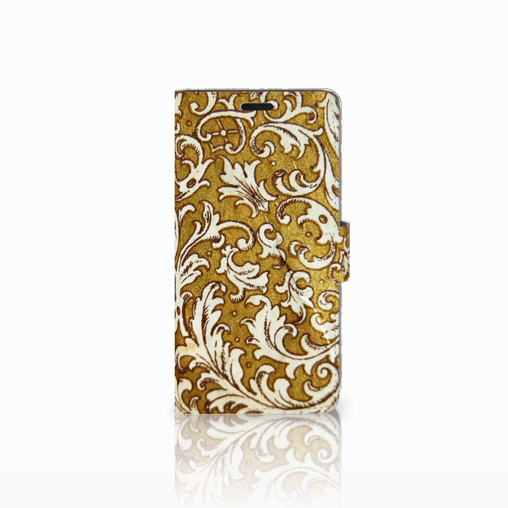 HTC Desire 530 Boekhoesje Design Barok Goud