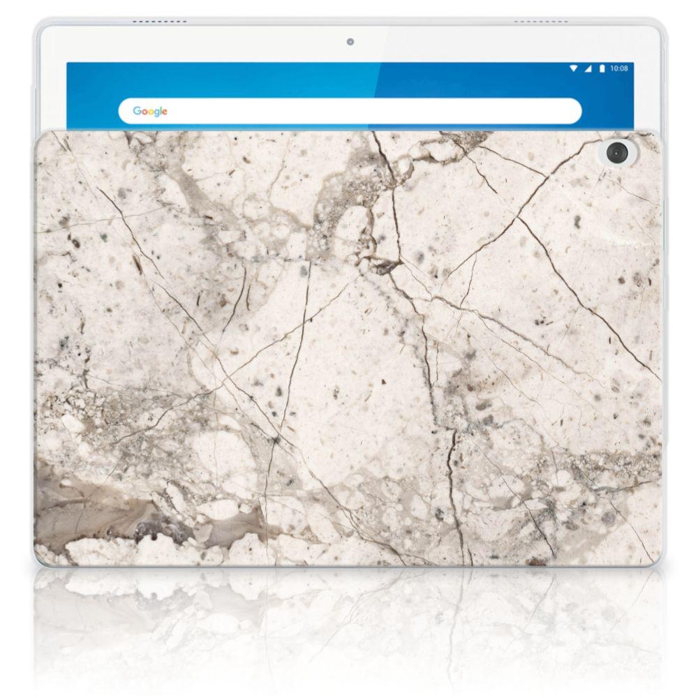 Lenovo Tab M10 Tablet Back Cover Marmer Beige