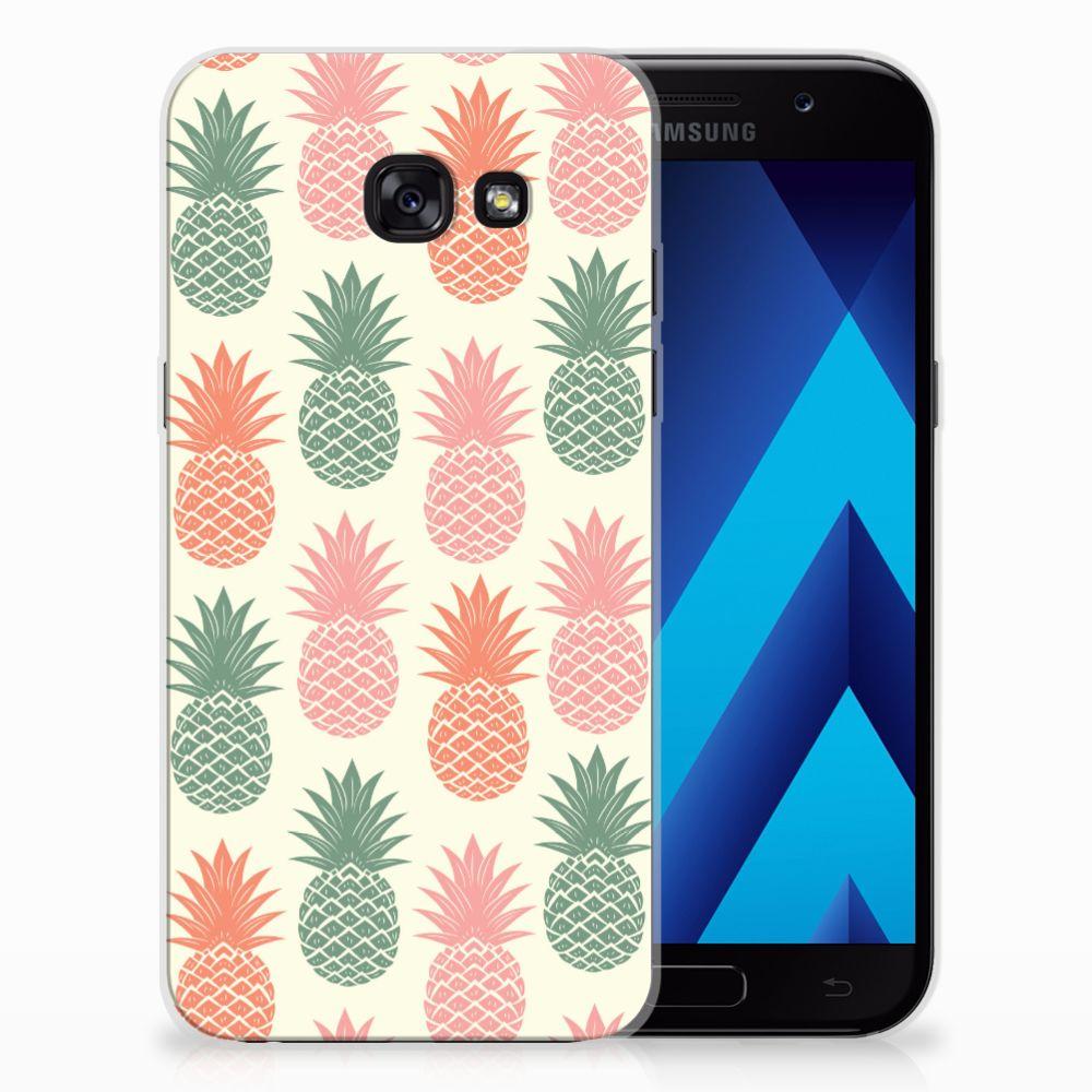 Samsung Galaxy A5 2017 Siliconen Case Ananas