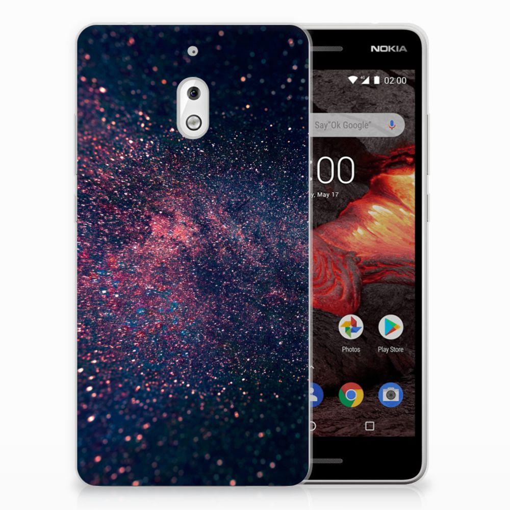 Nokia 2.1 (2018) TPU Hoesje Stars