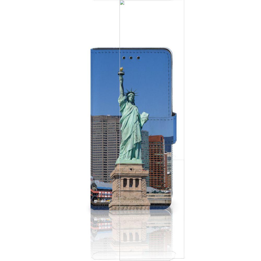 Huawei Ascend P8 Lite Flip Cover Vrijheidsbeeld